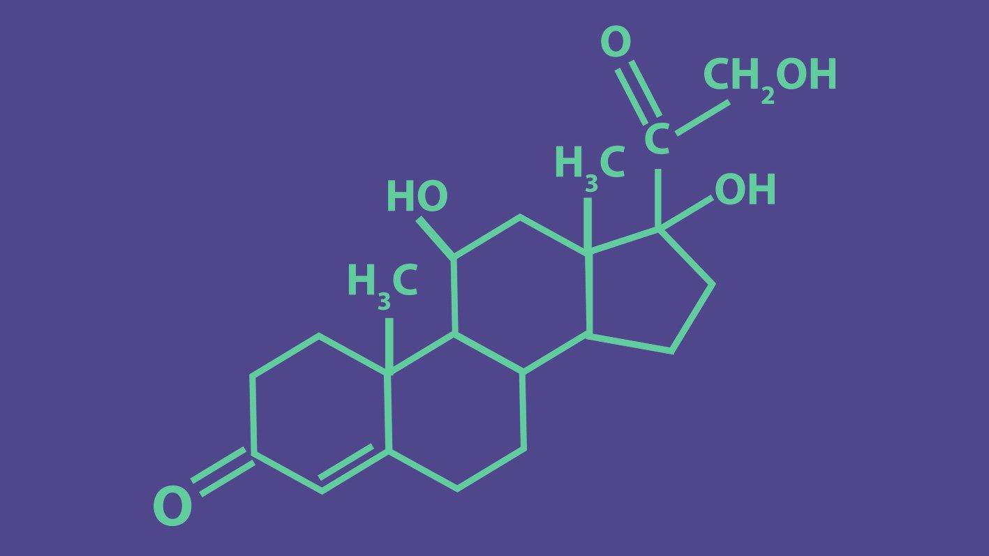 Formula dell'ormone Cortisolo